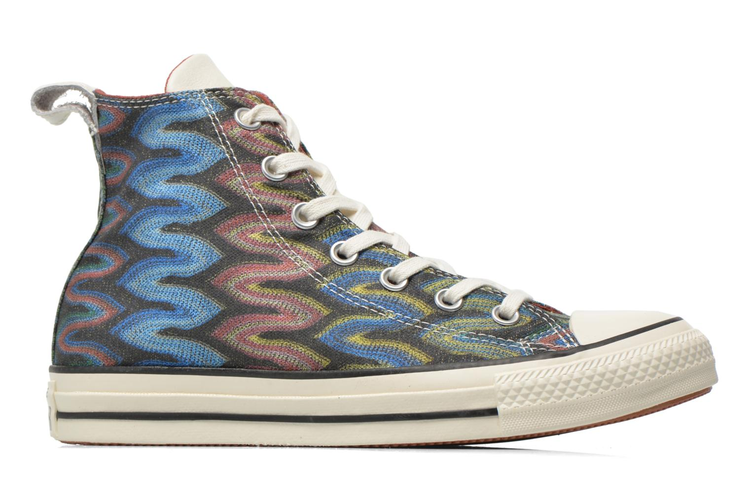 Baskets Converse Chuck Taylor All Star Missoni Hi W Multicolore vue derrière