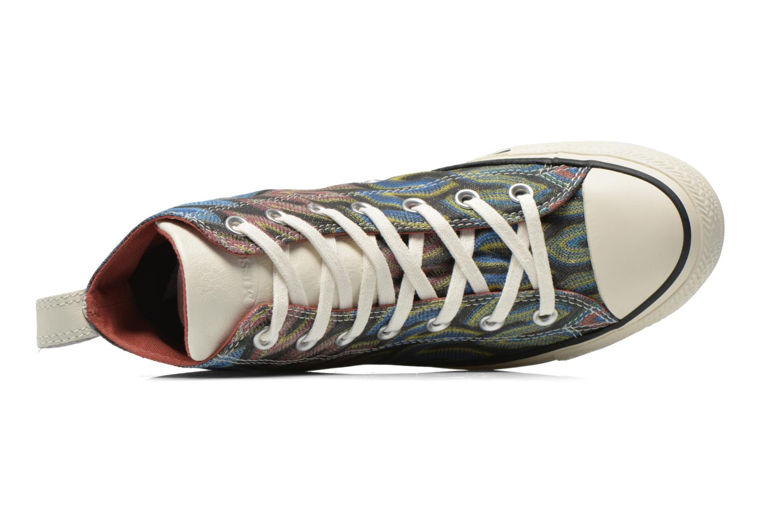 Baskets Converse Chuck Taylor All Star Missoni Hi W Multicolore vue gauche