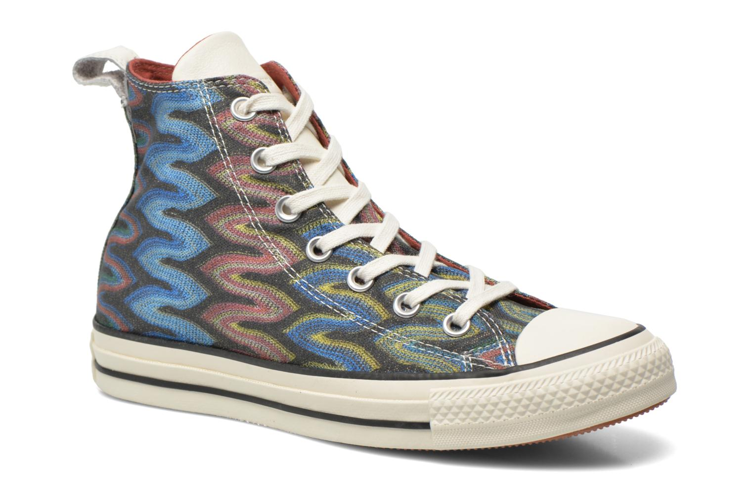 Baskets Converse Chuck Taylor All Star Missoni Hi W Multicolore vue détail/paire