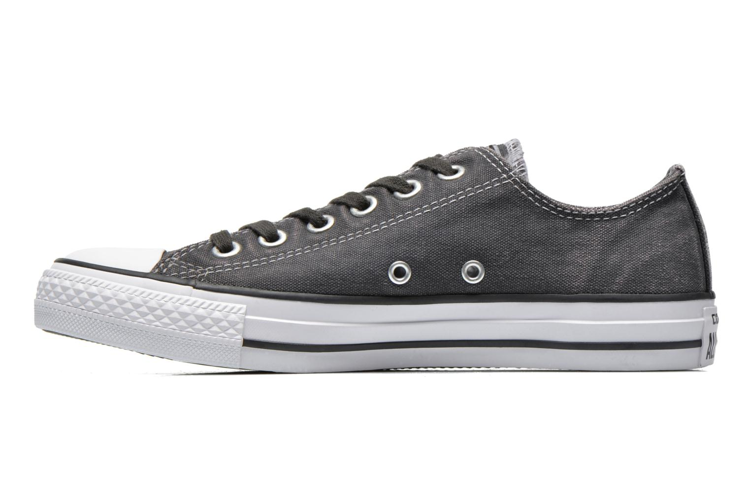 Baskets Converse Chuck Taylor All Star Washed Ox W Gris vue face