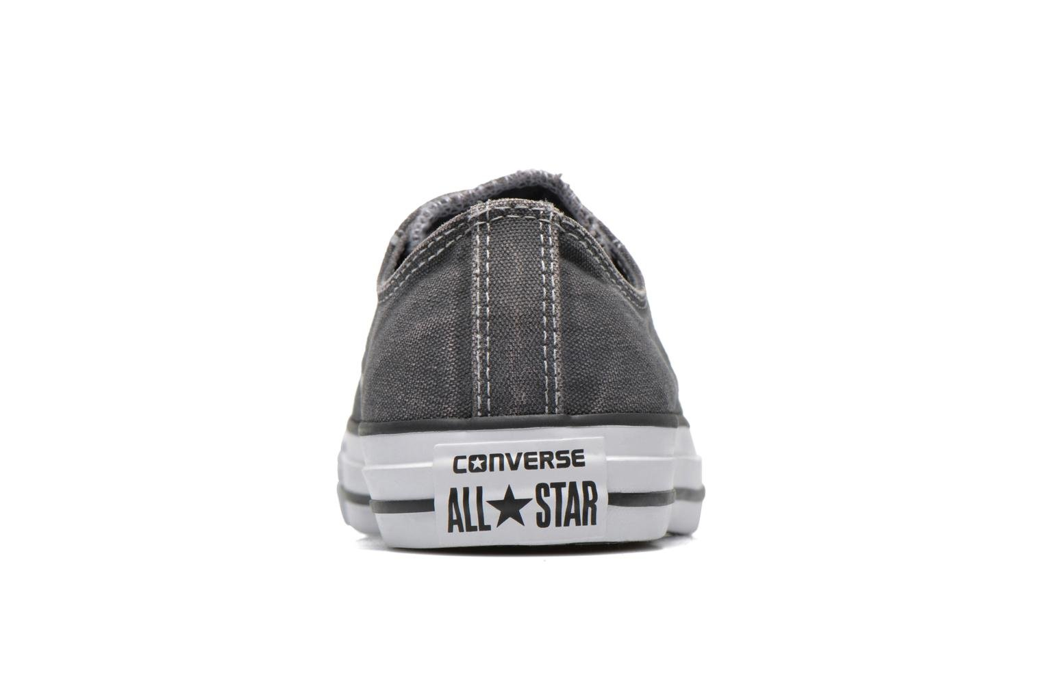 Baskets Converse Chuck Taylor All Star Washed Ox W Gris vue droite