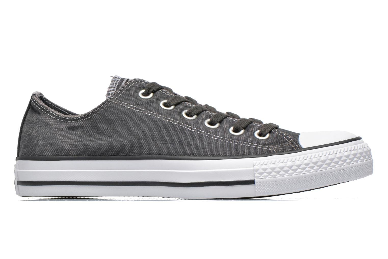 Baskets Converse Chuck Taylor All Star Washed Ox W Gris vue derrière