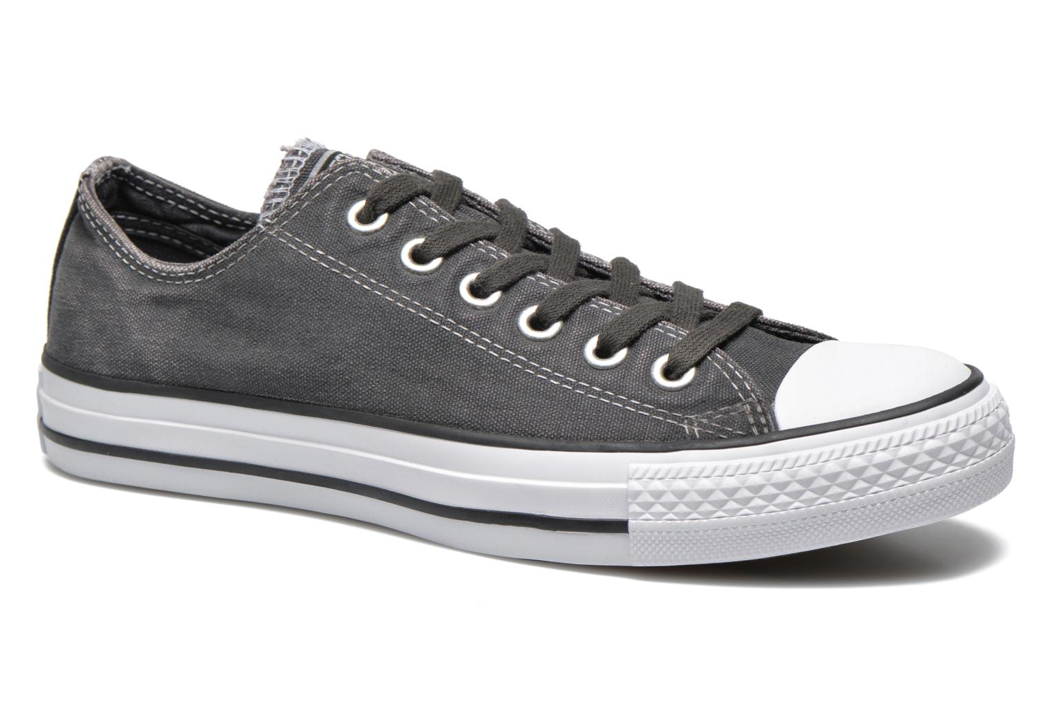 Baskets Converse Chuck Taylor All Star Washed Ox W Gris vue détail/paire