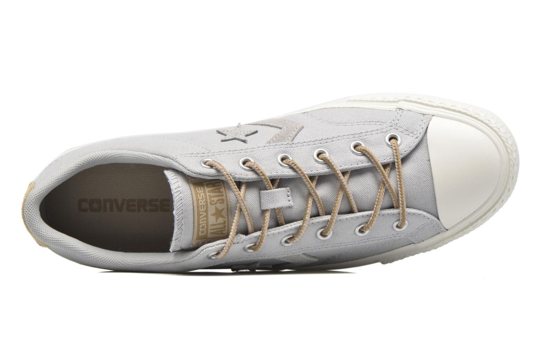 Sneaker Converse Star Player Workwear Ox M grau ansicht von links