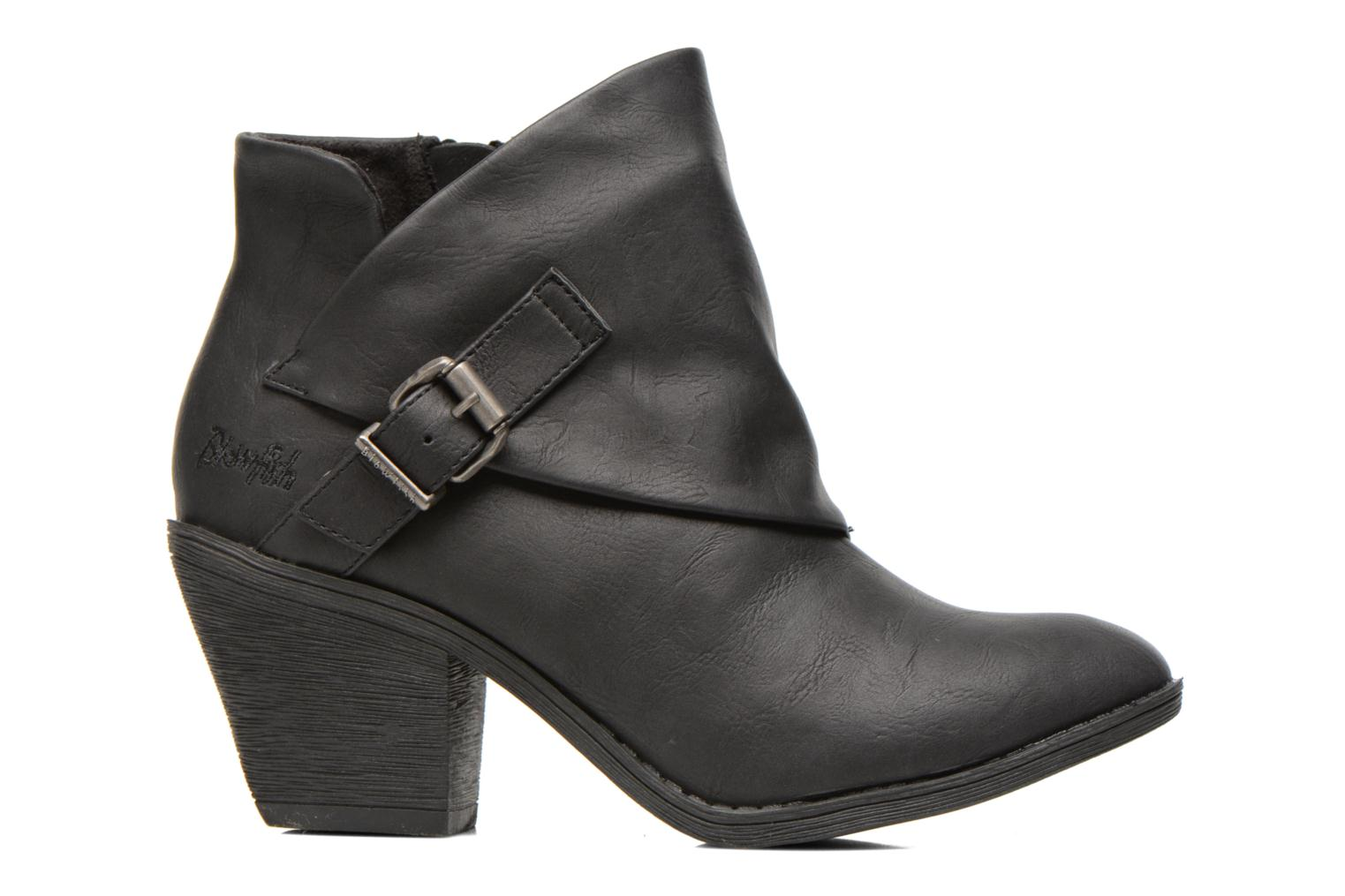 Ankle boots Blowfish Suba Black back view