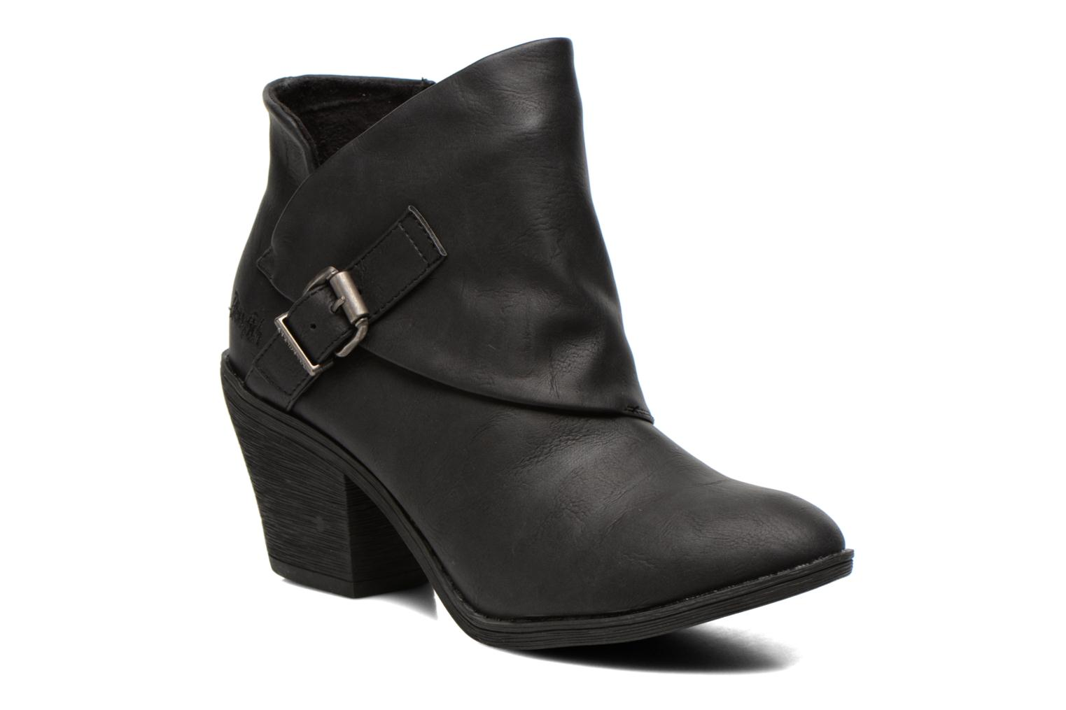 Ankle boots Blowfish Suba Black detailed view/ Pair view