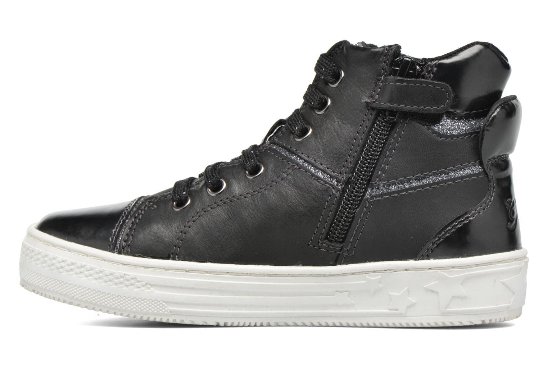 Baskets Geox J Highrock Noir vue face
