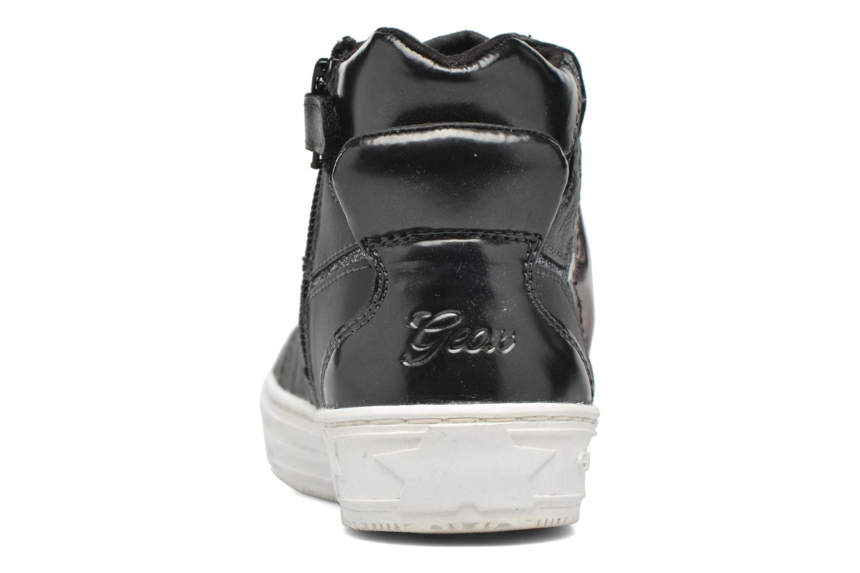 Baskets Geox J Highrock Noir vue droite