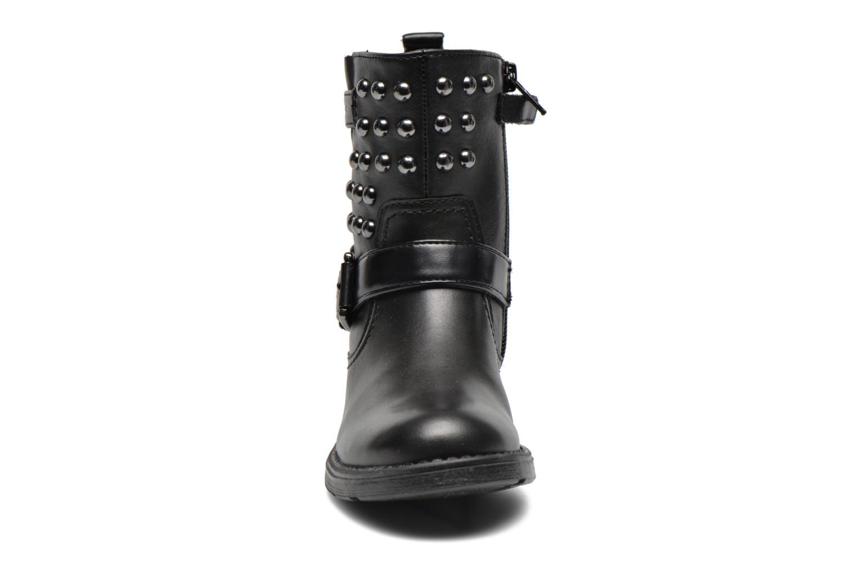 Stiefeletten & Boots Geox J Sofia C schwarz schuhe getragen