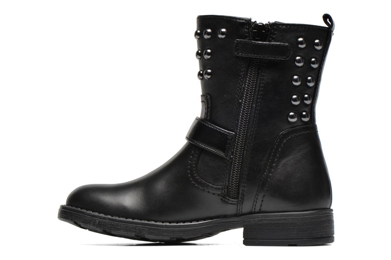 Bottines et boots Geox J Sofia C Noir vue face
