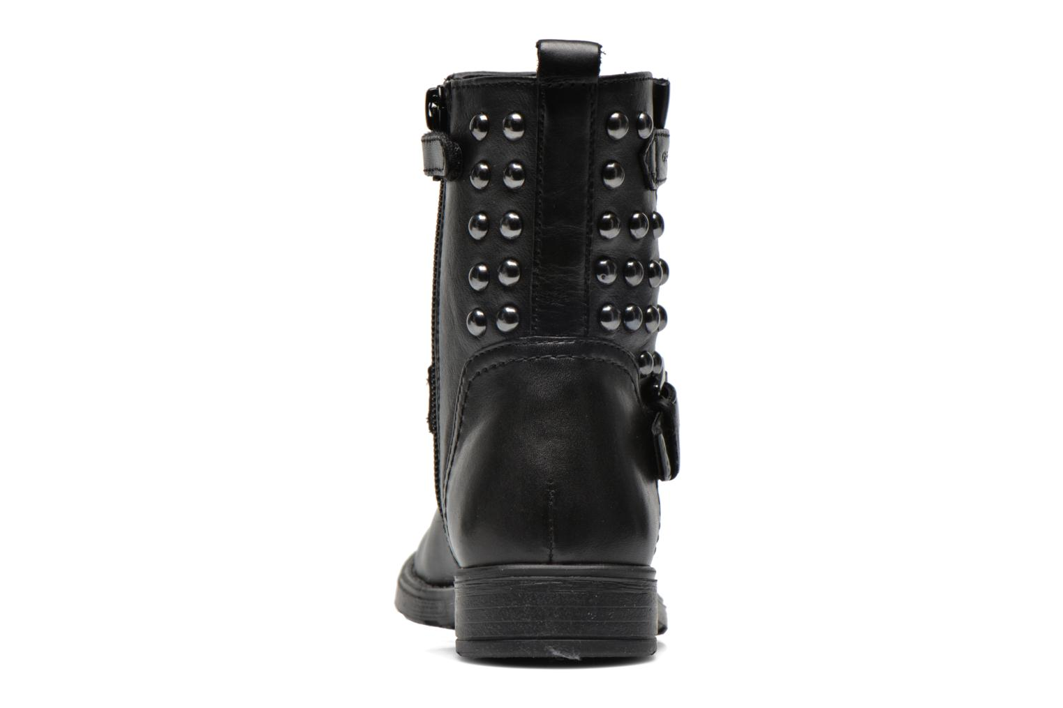 Ankle boots Geox J Sofia C Black view from the right
