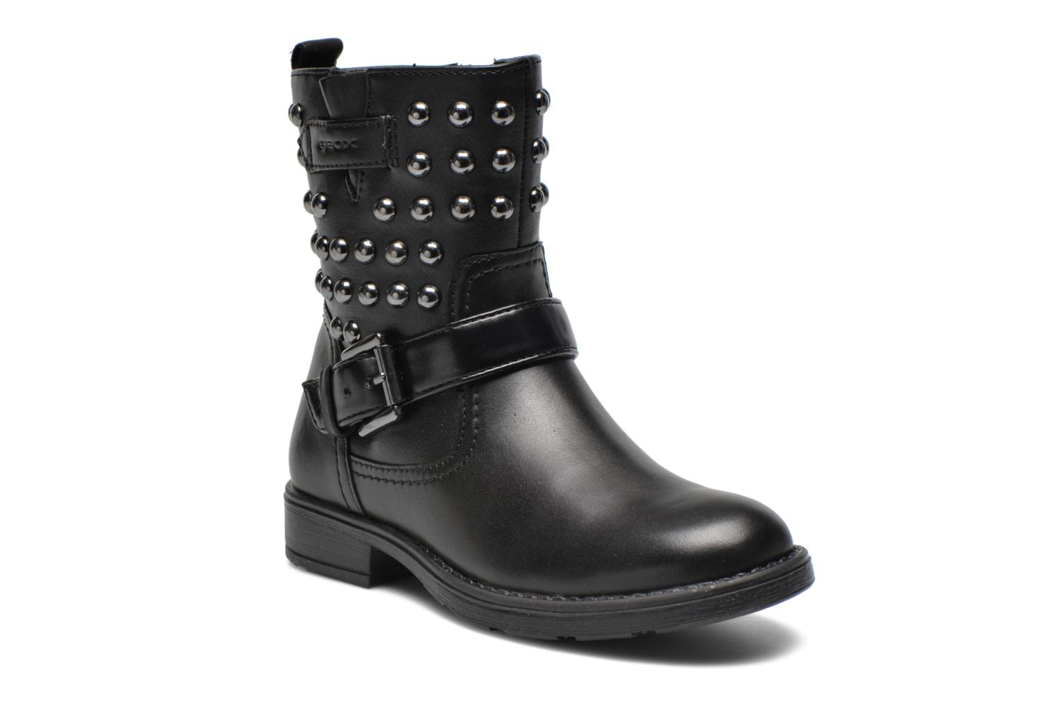 Ankle boots Geox J Sofia C Black detailed view/ Pair view