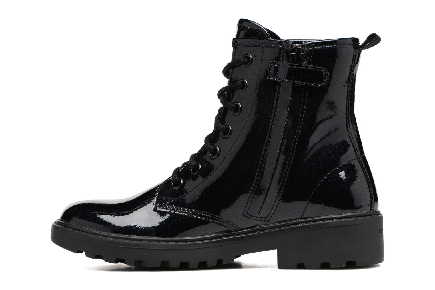 Ankle boots Geox J Casey G. K J5420K Blue front view