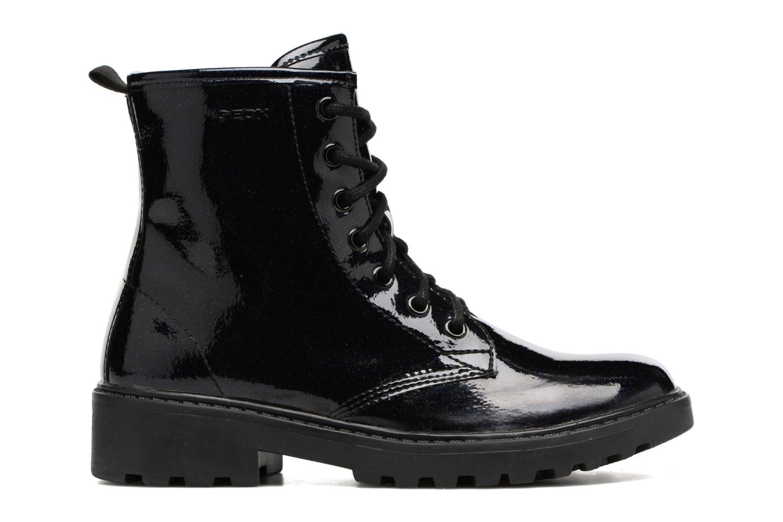 Boots en enkellaarsjes Geox J Casey G. K J5420K Blauw achterkant