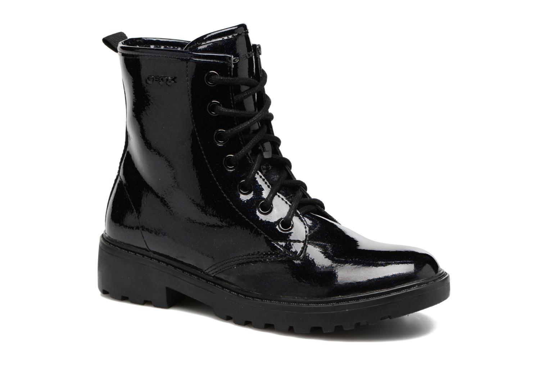 Boots en enkellaarsjes Geox J Casey G. K J5420K Blauw detail