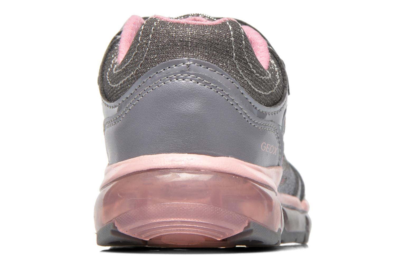 Sneaker Geox J Android G. B grau ansicht von rechts