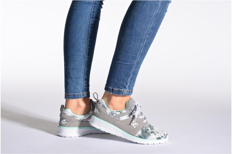 Sneakers DC Shoes Heathrow SE W Grigio immagine dal basso