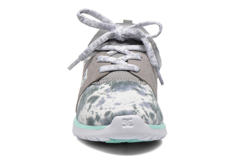 Baskets DC Shoes Heathrow SE W Gris vue portées chaussures