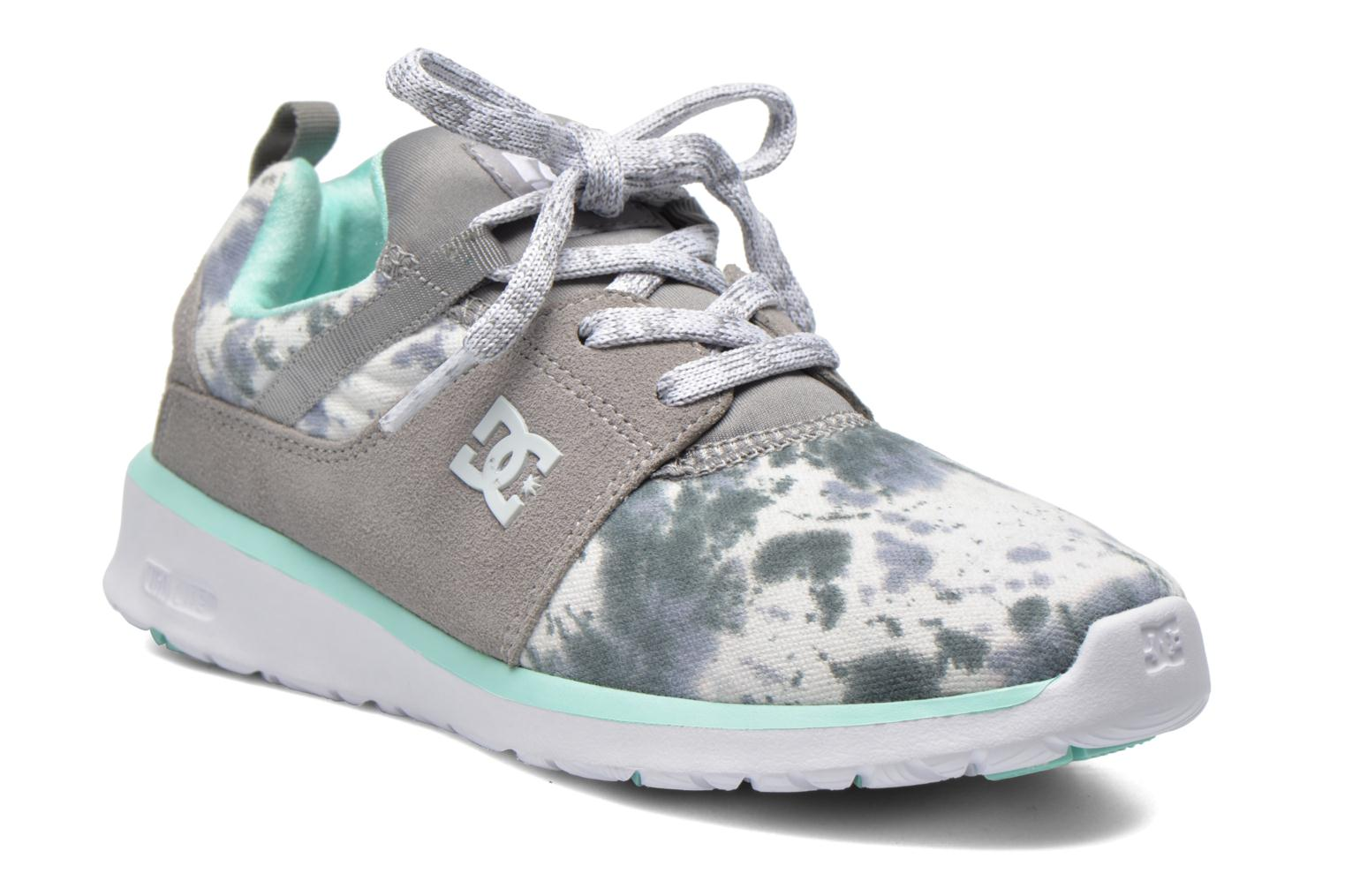 Sneaker DC Shoes Heathrow SE W grau detaillierte ansicht/modell