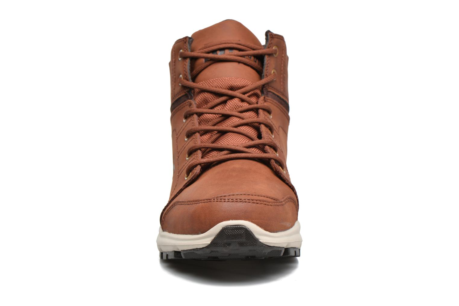 Trainers DC Shoes Torstein Brown model view