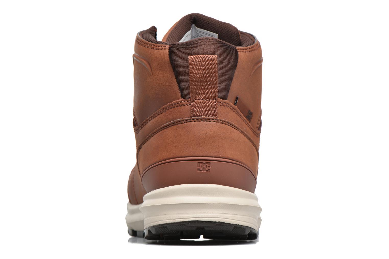 Sneaker DC Shoes Torstein braun ansicht von rechts