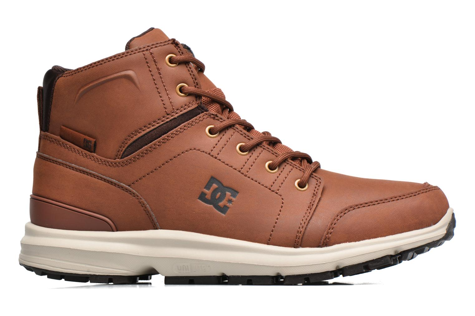 Trainers DC Shoes Torstein Brown back view