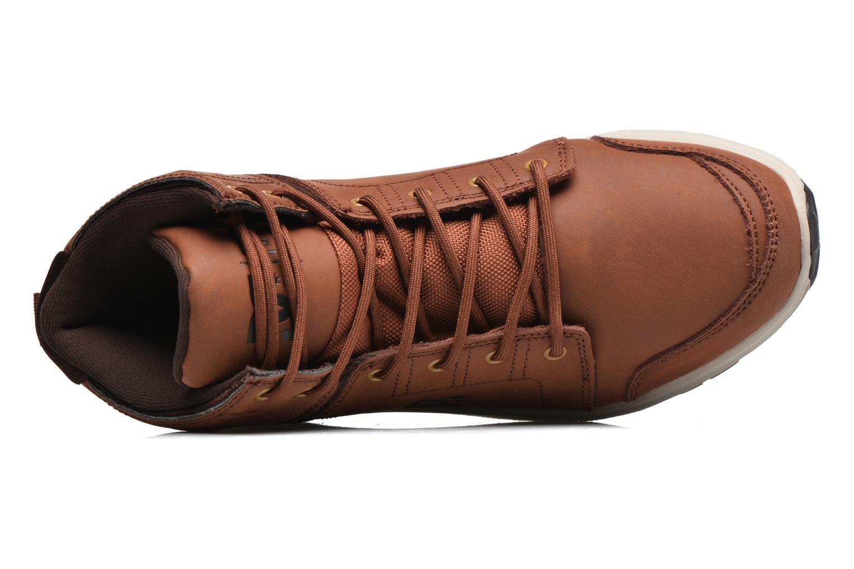 Sneaker DC Shoes Torstein braun ansicht von links