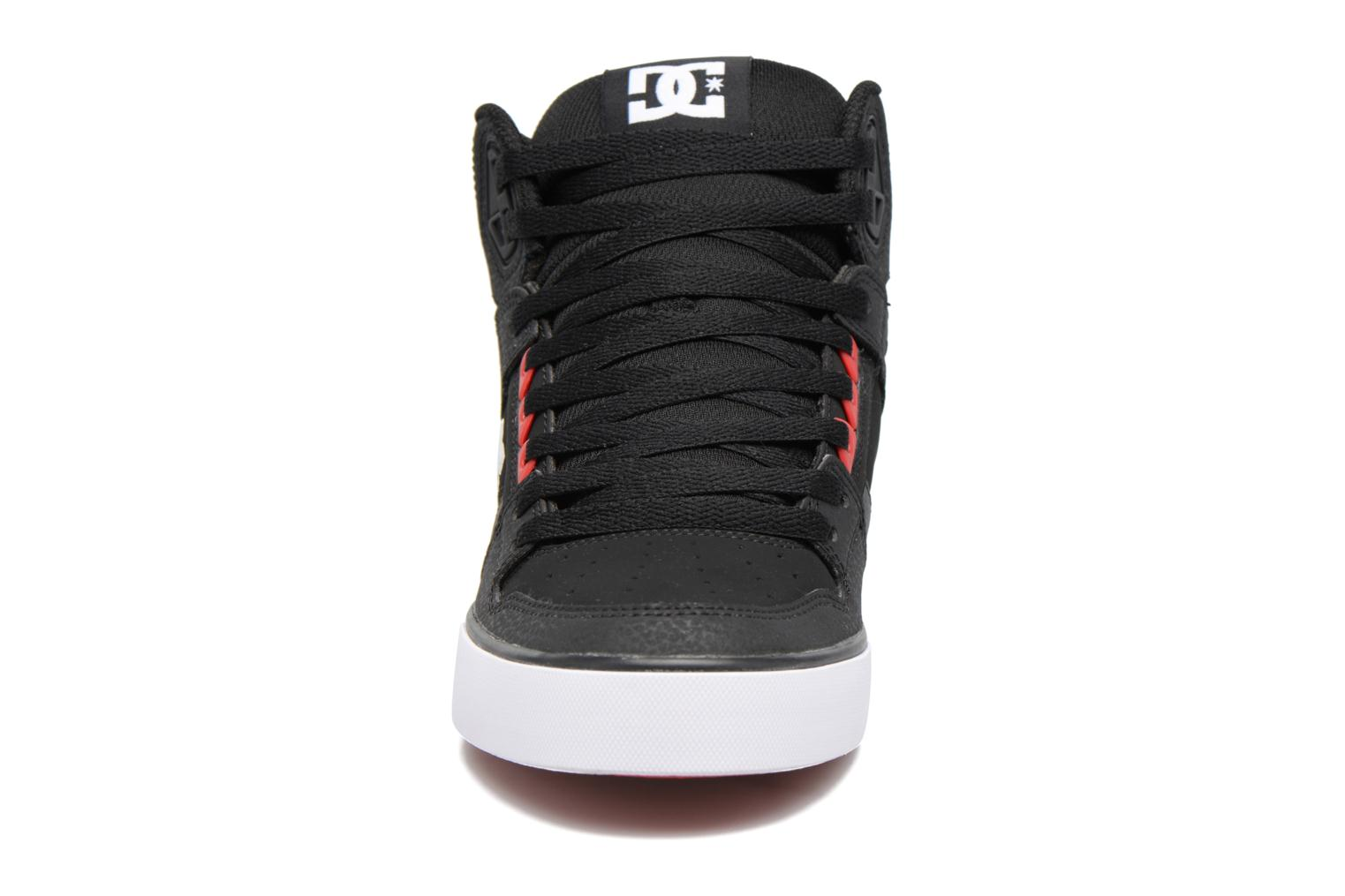 Deportivas DC Shoes Spartan High WC Negro vista del modelo