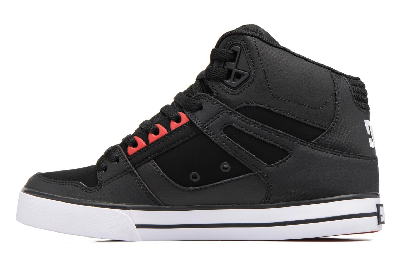 Baskets DC Shoes Spartan High WC Noir vue face