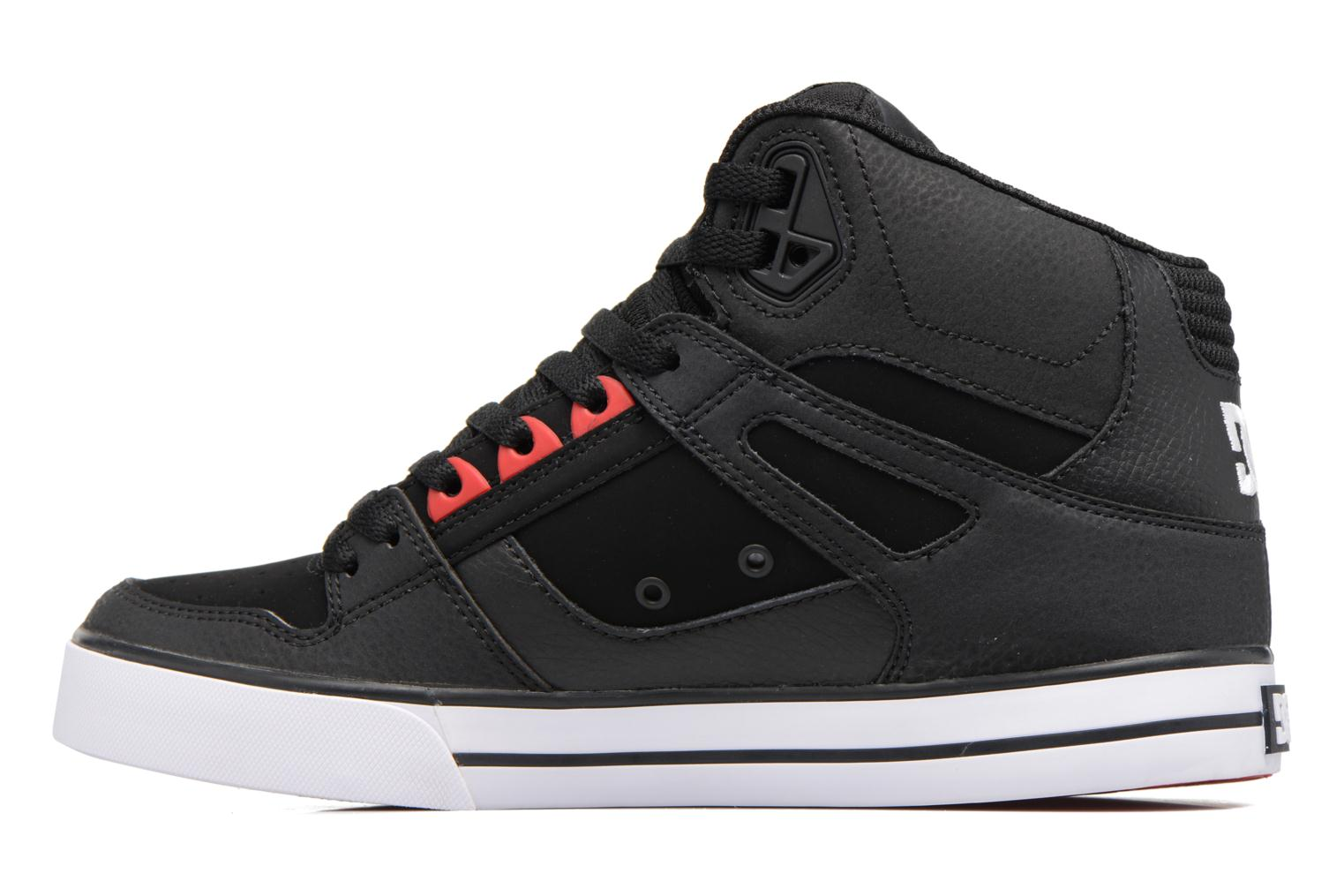 Deportivas DC Shoes Spartan High WC Negro vista de frente