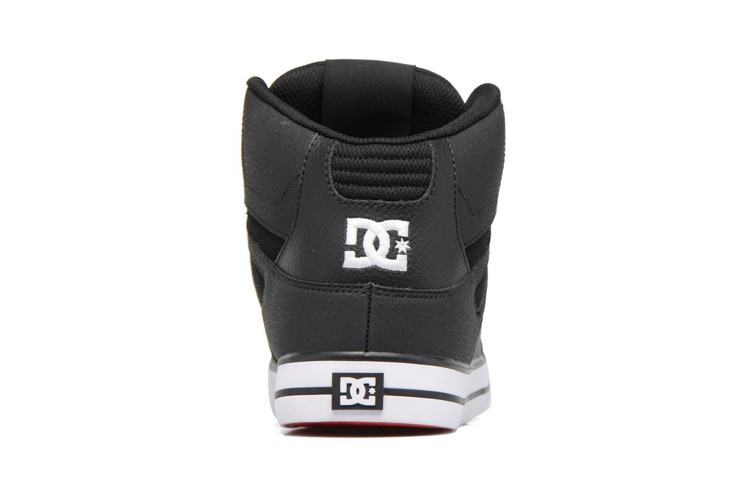 Deportivas DC Shoes Spartan High WC Negro vista lateral derecha