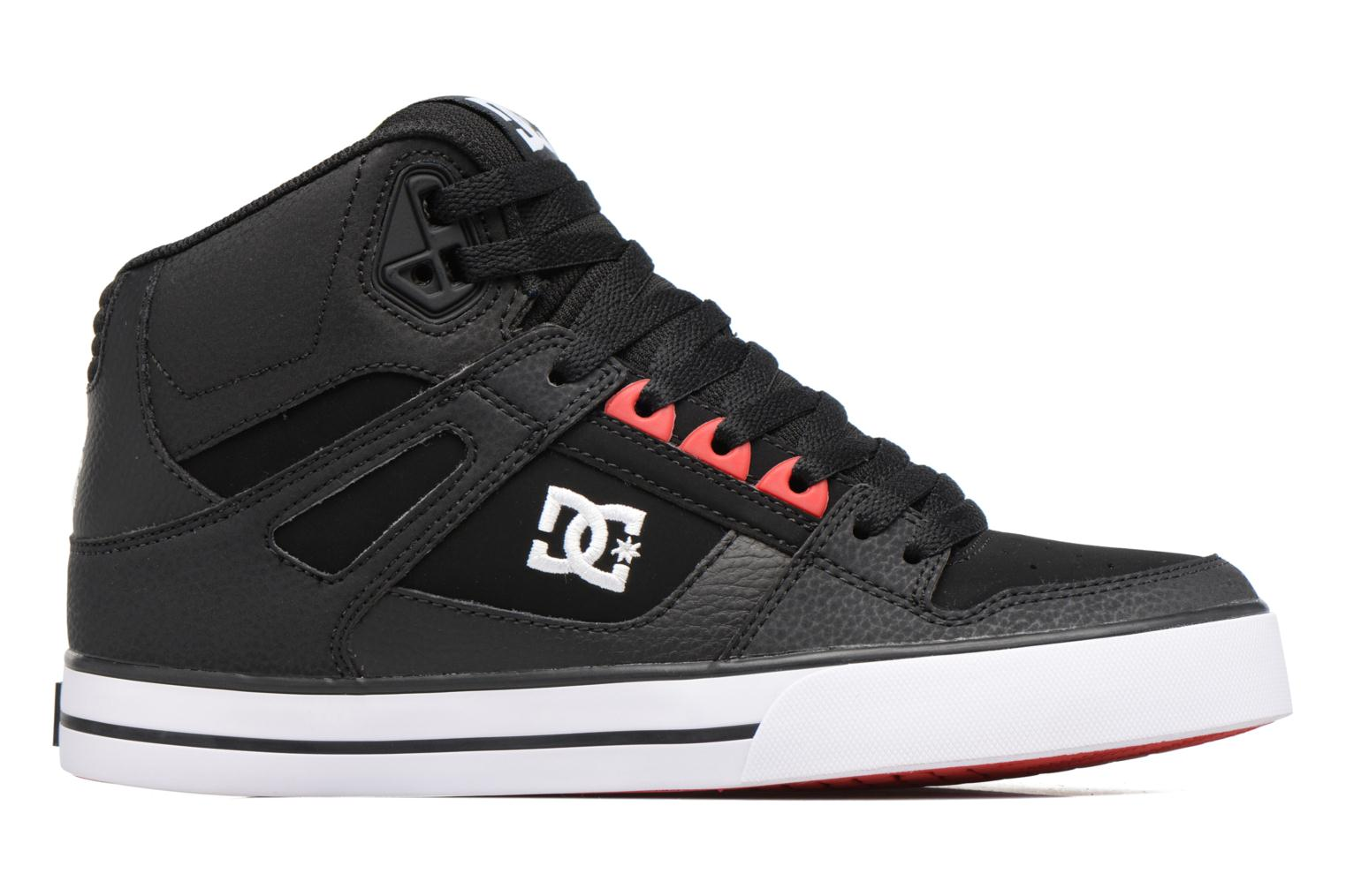 Deportivas DC Shoes Spartan High WC Negro vistra trasera