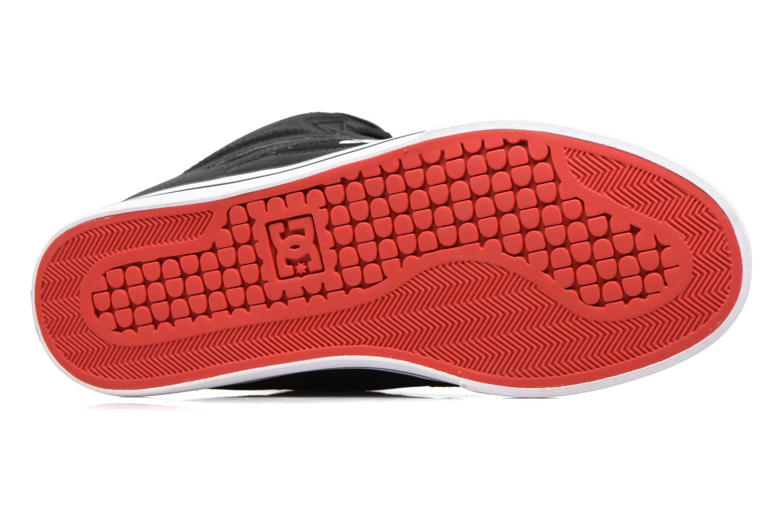 Sneaker DC Shoes Spartan High WC schwarz ansicht von oben
