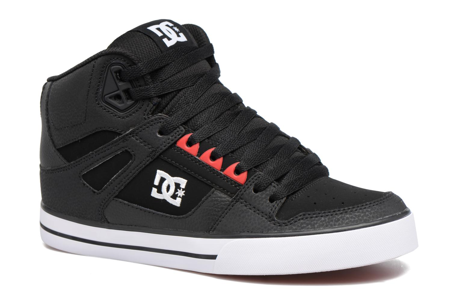 Deportivas DC Shoes Spartan High WC Negro vista de detalle / par