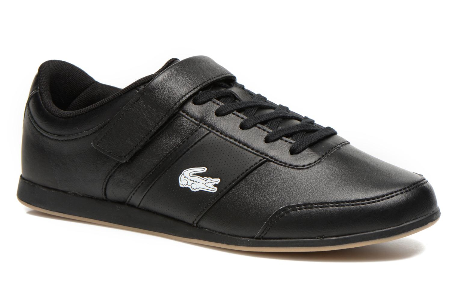 Trainers Lacoste Embrun Rei Black detailed view/ Pair view