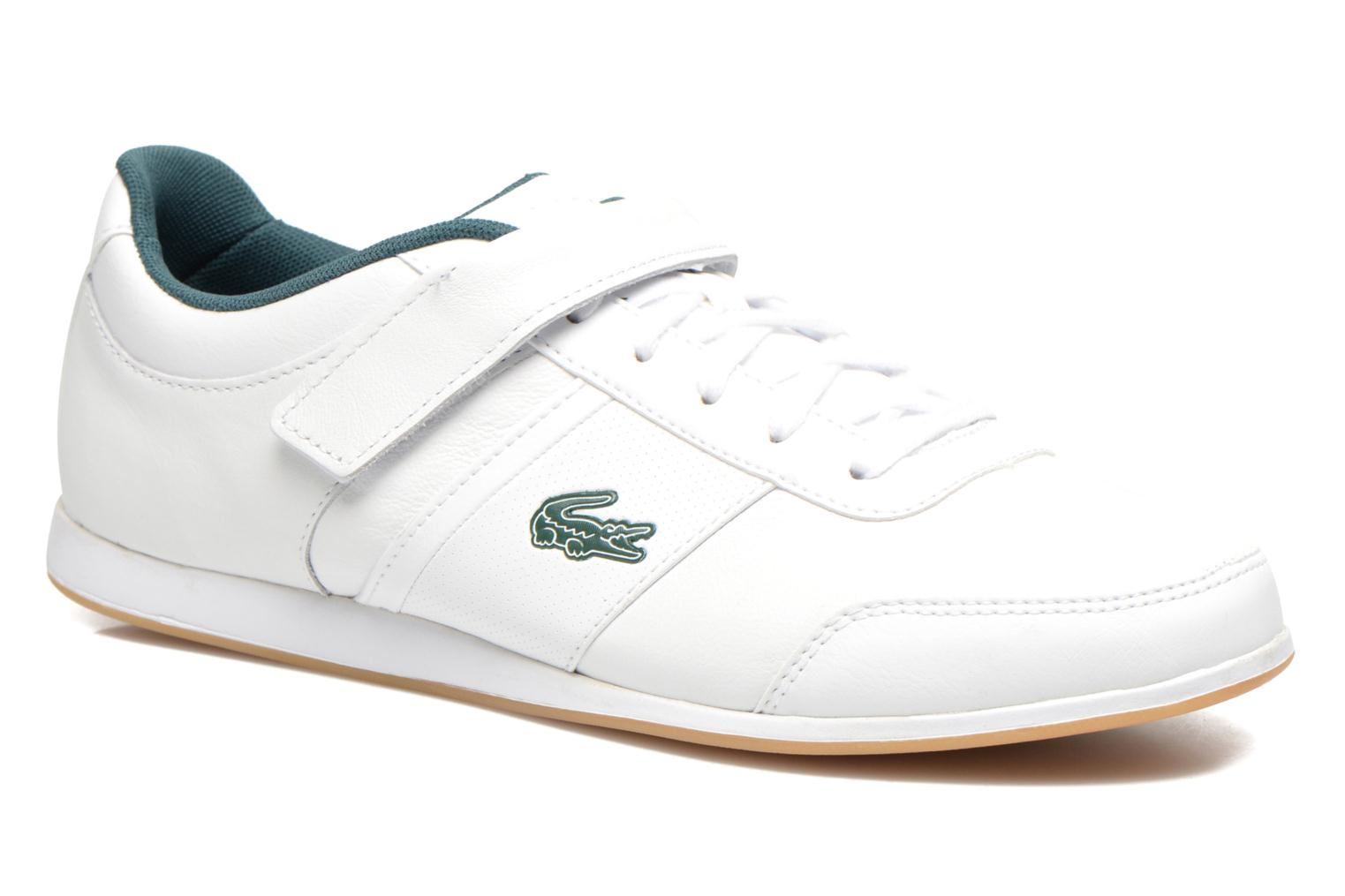 Trainers Lacoste Embrun Rei White detailed view/ Pair view