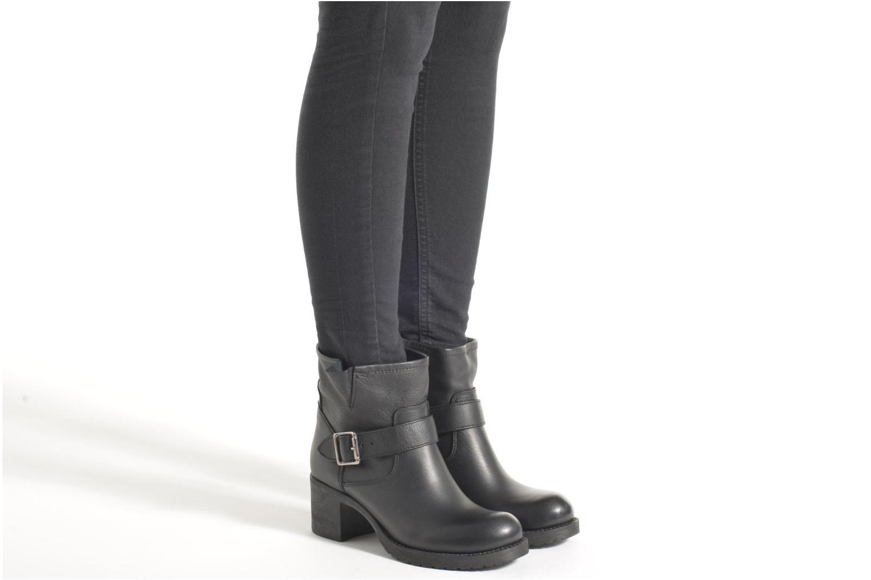 Stiefeletten & Boots Georgia Rose Malix schwarz ansicht von unten / tasche getragen