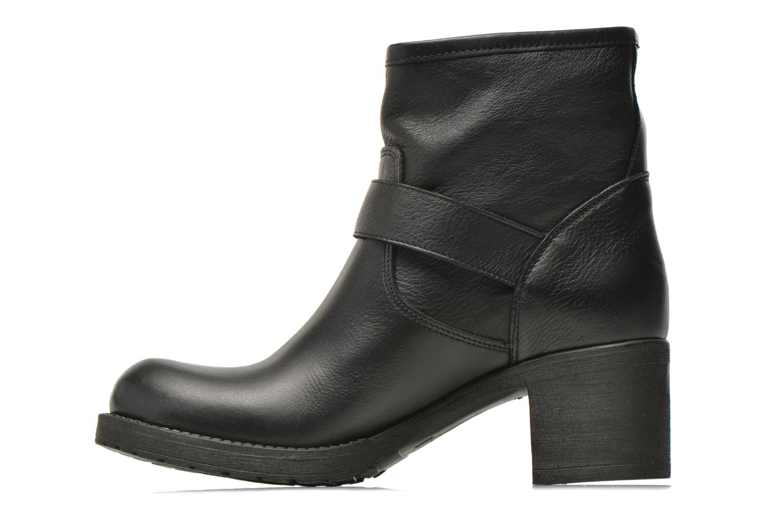 Ankle boots Georgia Rose Malix Black front view