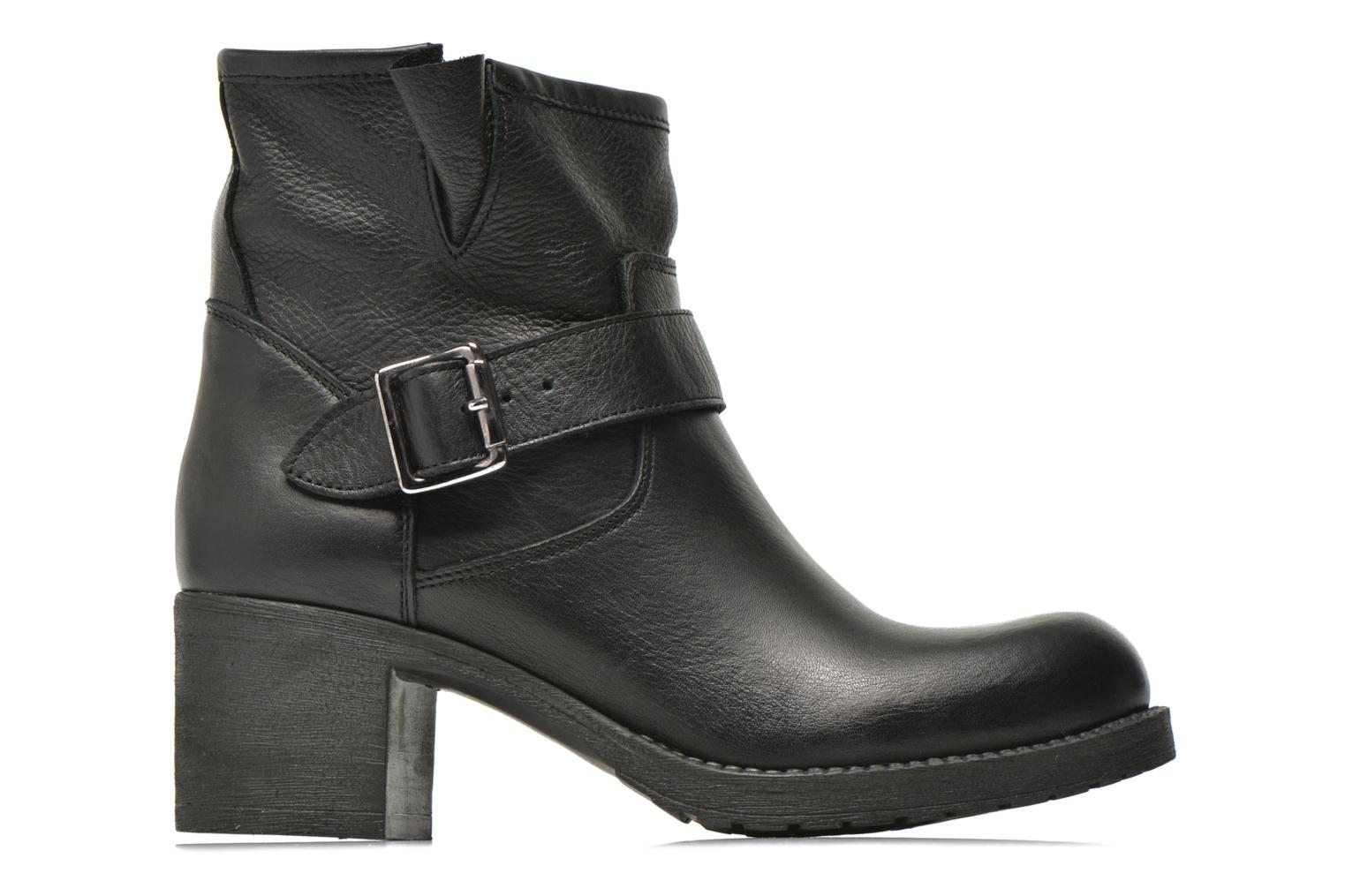 Ankle boots Georgia Rose Malix Black back view