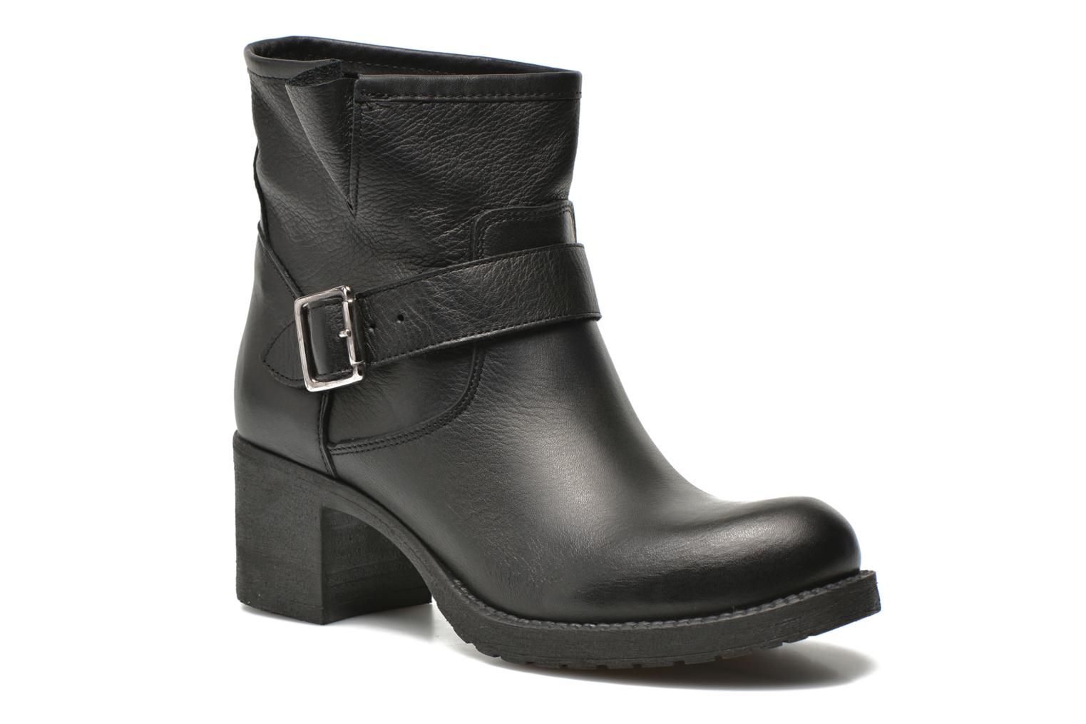 Ankle boots Georgia Rose Malix Black detailed view/ Pair view