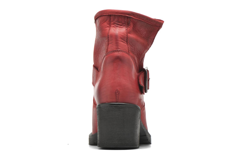 Bottines et boots Georgia Rose Malix Rouge vue droite