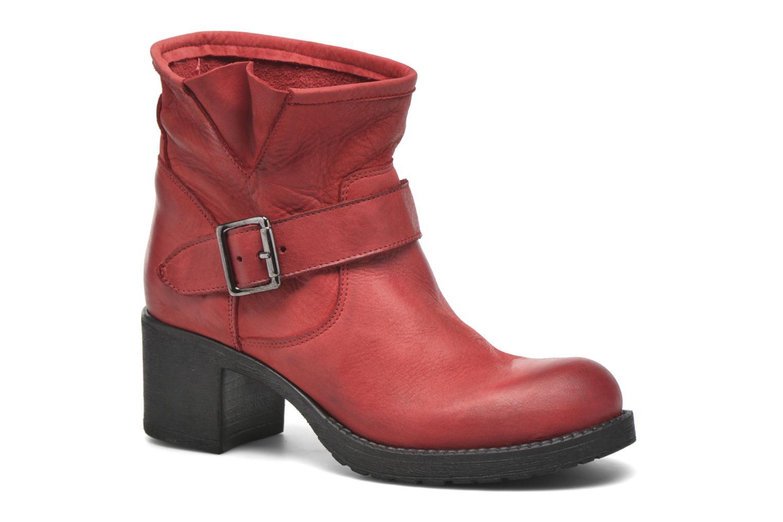Bottines et boots Georgia Rose Malix Rouge vue détail/paire