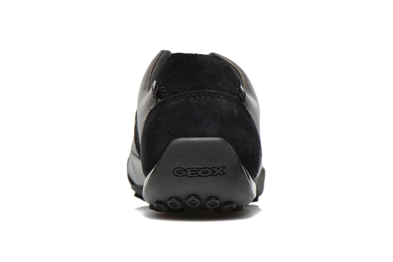 Sneakers Geox D SNAKE B D5412B Nero immagine destra