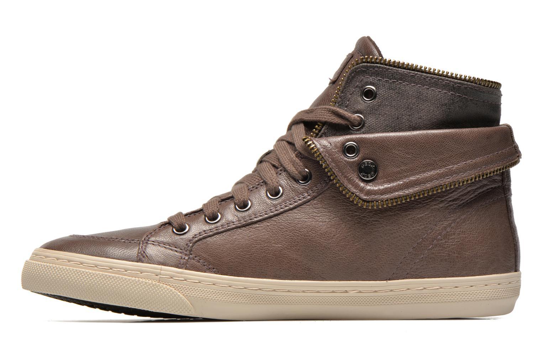 Sneaker Geox D NEW CLUB D D5458D grau ansicht von vorne