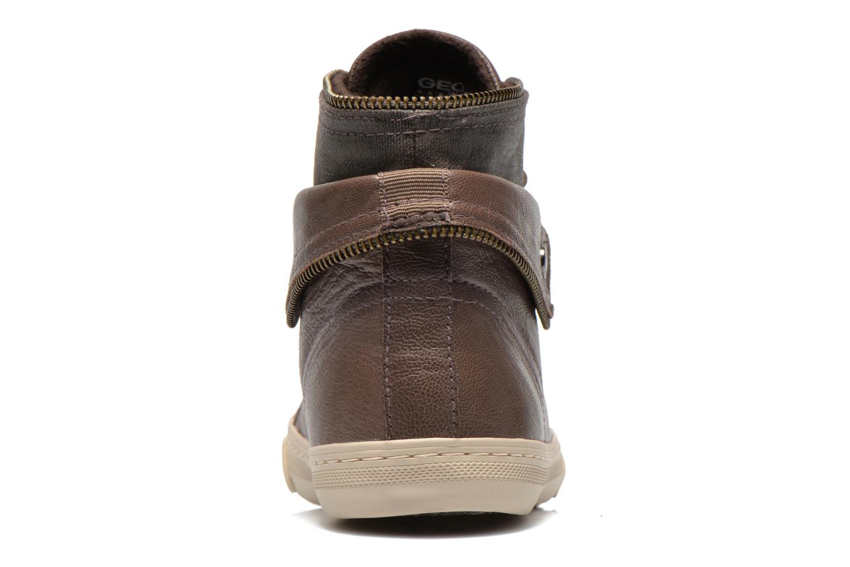 Sneakers Geox D NEW CLUB D D5458D Grijs rechts