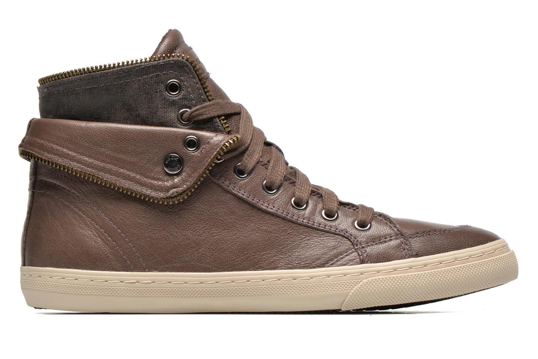 Sneakers Geox D NEW CLUB D D5458D Grijs achterkant