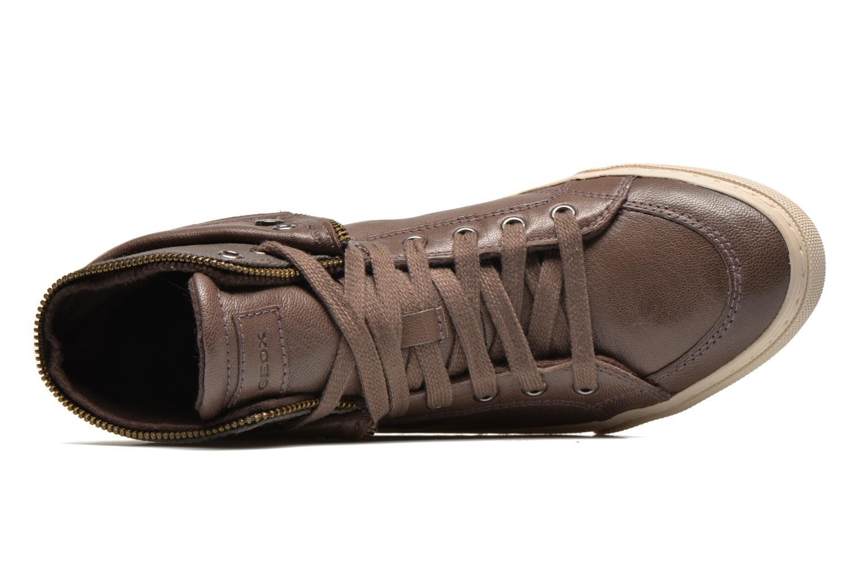 Sneaker Geox D NEW CLUB D D5458D grau ansicht von links