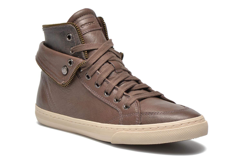 Sneaker Geox D NEW CLUB D D5458D grau detaillierte ansicht/modell