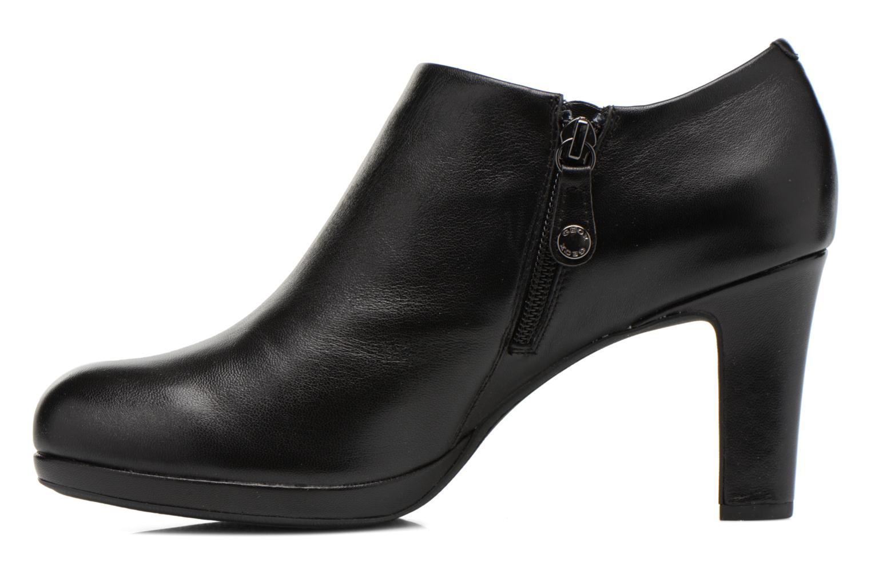 Bottines et boots Geox D LANA B D54Q6B Noir vue face