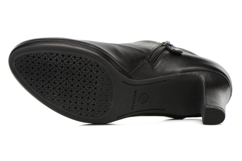 Bottines et boots Geox D LANA B D54Q6B Noir vue haut